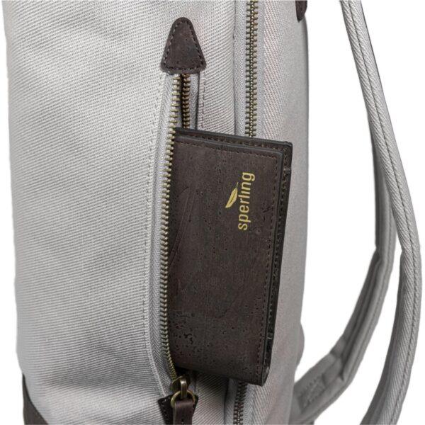 Nachhaltiger Rucksack mit Sicherheitsfach