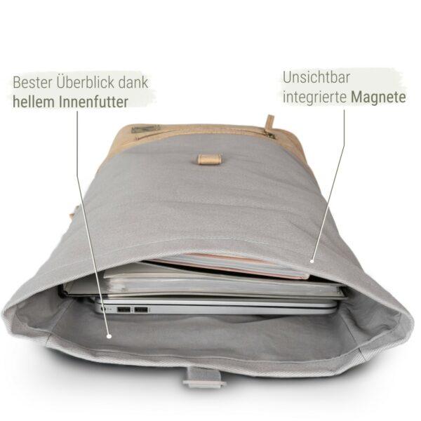 Laptop Kork Rucksack