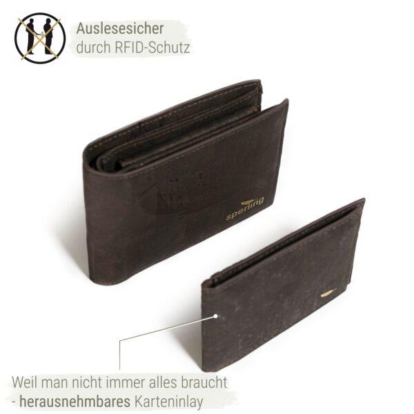 Portemonnaie Karten Herren