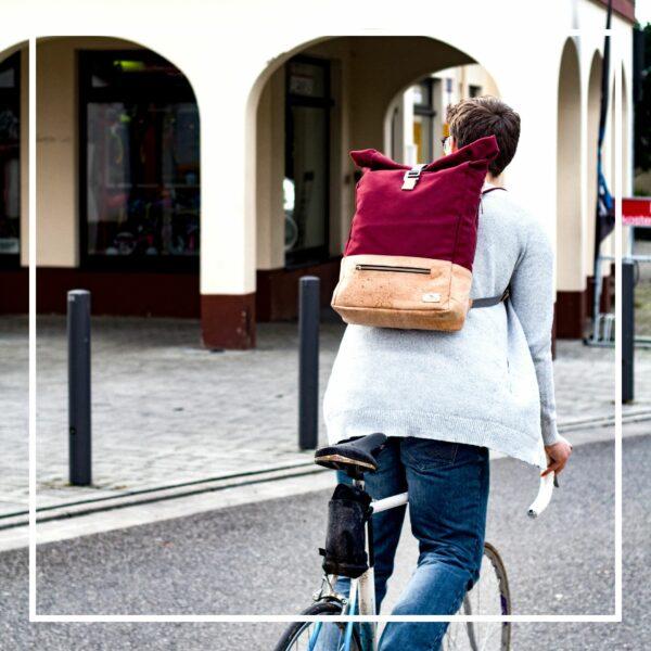 nachhaltiger Fahrrad Rucksack