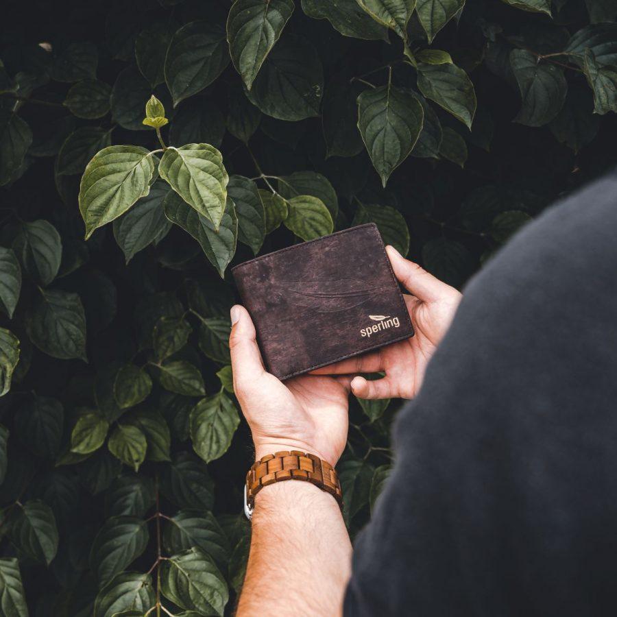 Nachhaltiges Herren Portemonnaie Wealthy Chocolate