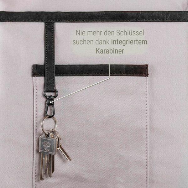Schlüssel Karabiner Rucksack