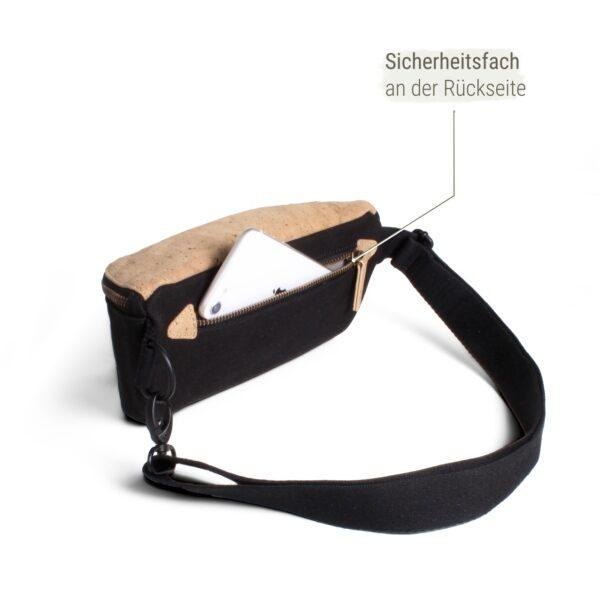 Hip Bag mit Außenfach