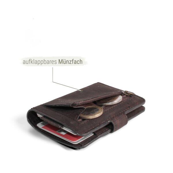 kleines Portemonnaie mit Münzfach