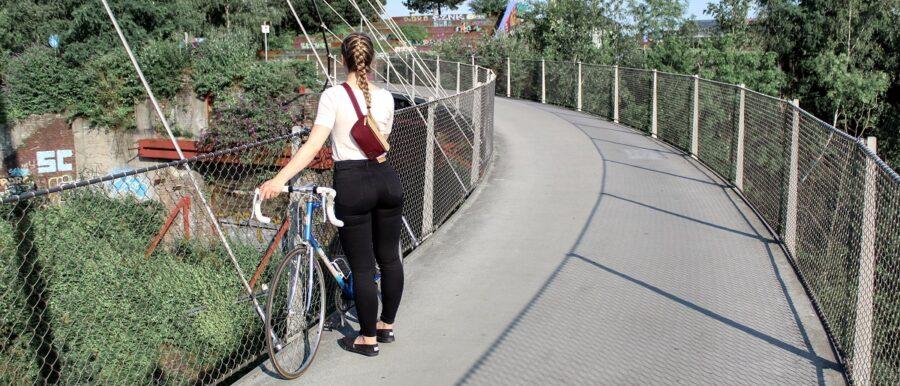 nachhaltige Bauchtasche Fahrrad